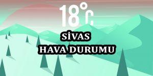 15 Günlük Sivas Hava Durumu (28.11.2019)