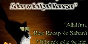 Ramazan ayının müjdecisi, habercisi mübarek üç aylar başladı