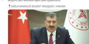 """Sağlık Bakanı Fahrettin Koca, ''Herkes kendi OHAL'ini ilan edebilir. Bunu illa devletin ilan etmesi gerekmiyor"""""""