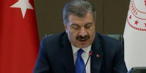 Sağlık Bakanı Koca'dan günlük koronavirüs tablosu