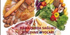Uzmanından Ramazan'da sağlıklı beslenme metodları