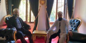 DTG'nin Onursal Başkanın'dan Büyük Ayasofya Camii İmamı Önder Soy' a anlamlı ziyaret