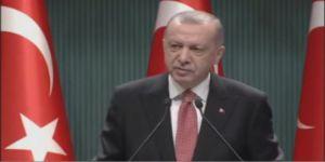 Erdoğan:Bir milletin adeta yeniden doğuşuna şahitlik ediyoruz..