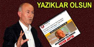 """Ahmet Şimşirgil'den A Haber'e tepki """"Yazıklar Olsun"""""""