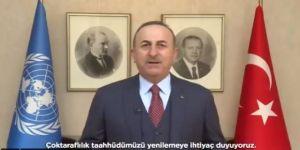 Çavuşoğlu'ndan Uygur Türkleri Açıklaması:Bu konuda şeffaflık bekliyoruz.