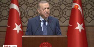 """Erdoğan """"andımız"""" tartışmalarında da son noktayı koydu."""