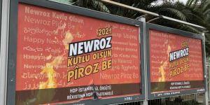 HDP İBB'ye newroz için reklam verdi