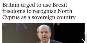 İngiltere, KKTC'yi devlet olarak tanıyabilir