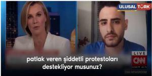 İsrail savunucusu CNN Muhabirine ders veren Filistinli genç