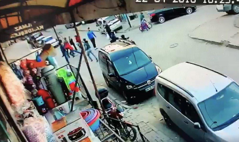 İstanbul'da Çocuk Cinayeti Kamerada