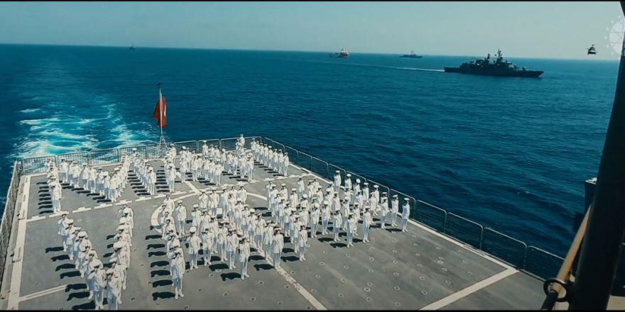"""Preveze Deniz Zaferi'nin yıl dönümüne özel """"Mavi Vatan Marşı"""""""
