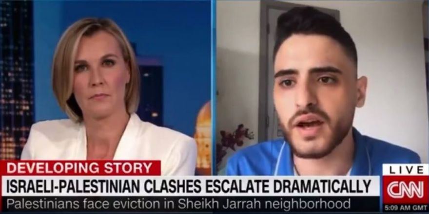 CNN Muhabirine Error Verdiren Filistinli