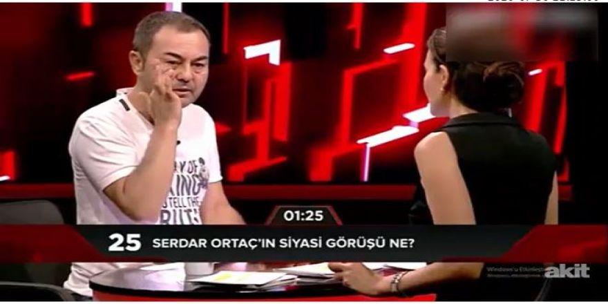 Serdar Ortaç'tan Cumhurbaşkanı ile ilgili açıklama
