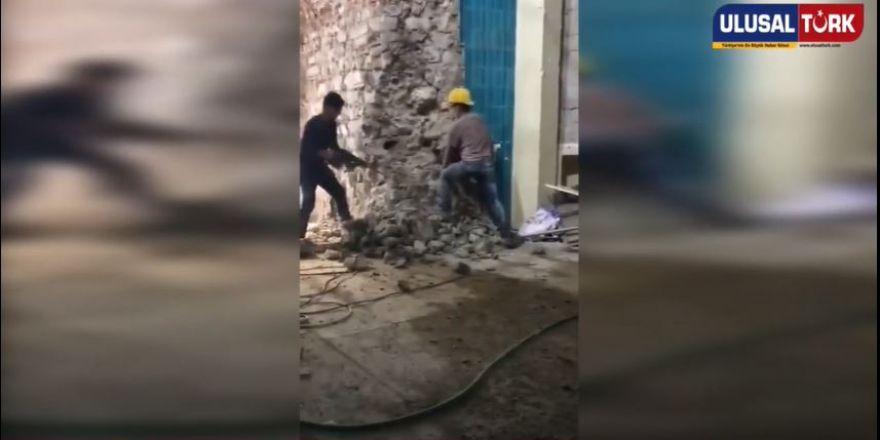 Galata Kulesi'den Skandal Görüntüler Ortaya Çıktı